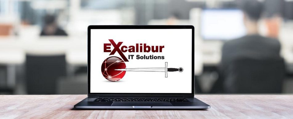 excalibur it solutions page header
